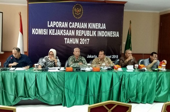 Komisi Kejaksaan: Jumlah Jaksa Nakal Menurun pada 2017