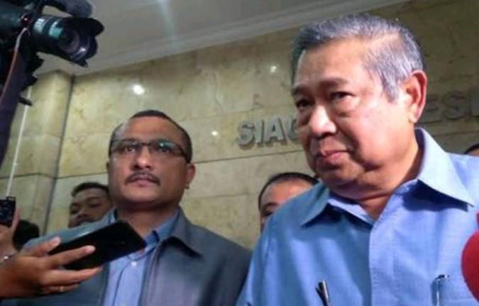 SBY Laporkan Pengacara Setnov ke Bareskrim
