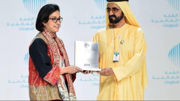 Sri Mulyani Dapat Penghargaan Menteri Terbaik Dunia