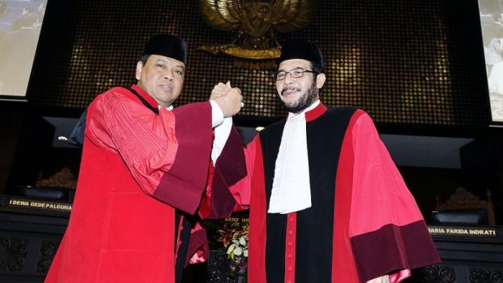 Anwar Usman Terpilih Jadi Ketua MK