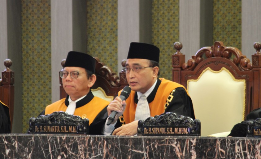 Hakim Agung Sunarto Terpilih Jadi Wakil Ketua MA bidang Non-Yudisial