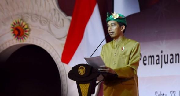Jokowi: Infrastruktur Dibangun Juga untuk Konektivitas Budaya