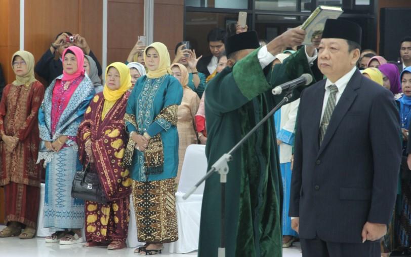 Ketua MA Lantik Aco Nur sebagai Dirjen Badan Peradilan Agama
