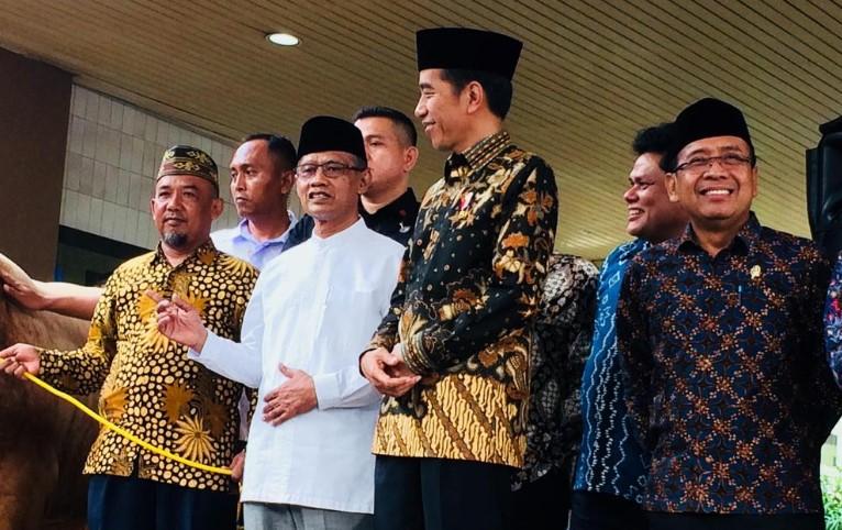 Jokowi Bahas Masalah Ekonomi Bersama Muhammadiyah