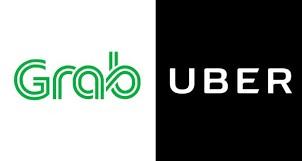 Grab dan Uber Singapura Kena Denda US$9,5 Juta
