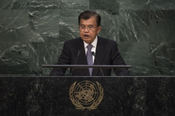 Wapres Jusuf Kalla Bicara tentang Superhero di PBB