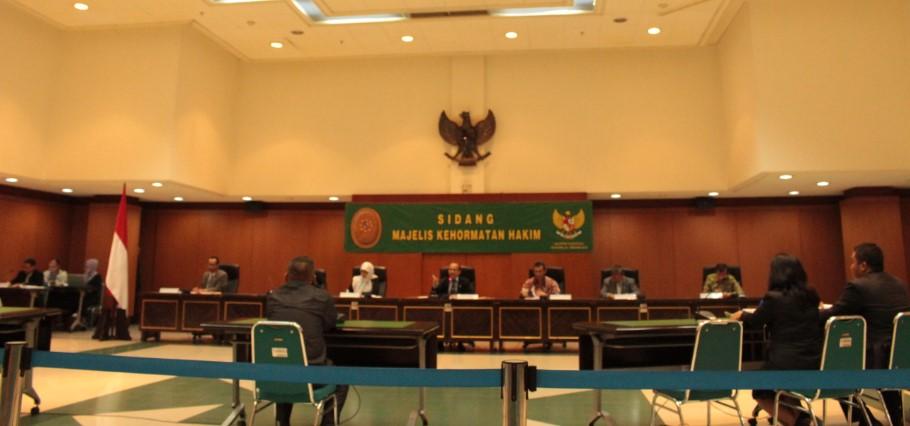 MA dan Komisi Yudisial Gelar Sidang Majelis Kehormatan Hakim