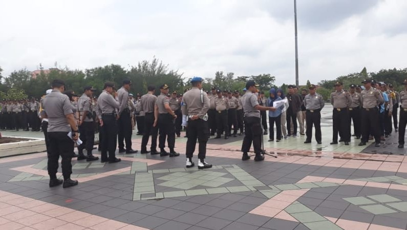 Polda Metro Jaya Siapkan 7.633 Personil untuk Amankan Aksi Bela Tauhid
