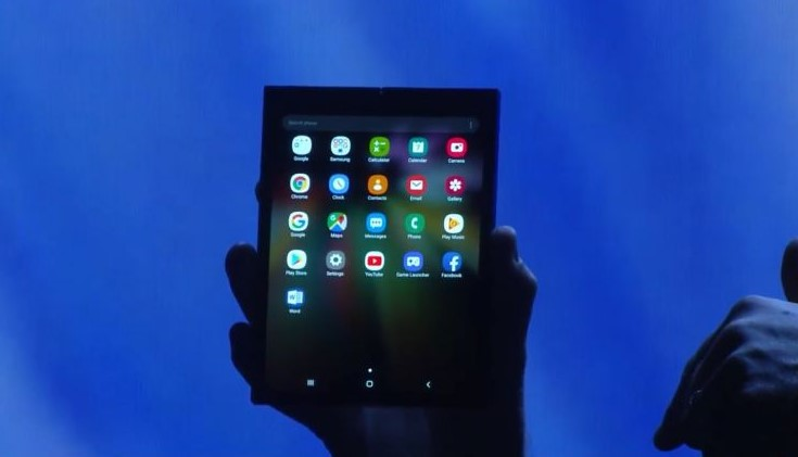 Samsung Perkenalkan Ponsel Layar Lipat Infinity Flex Display