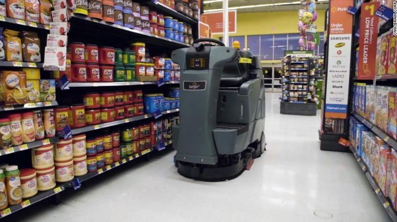Walmart Tambah Ribuan Robot di Tokonya
