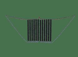 Rensefisk 2-delt gardinskjul