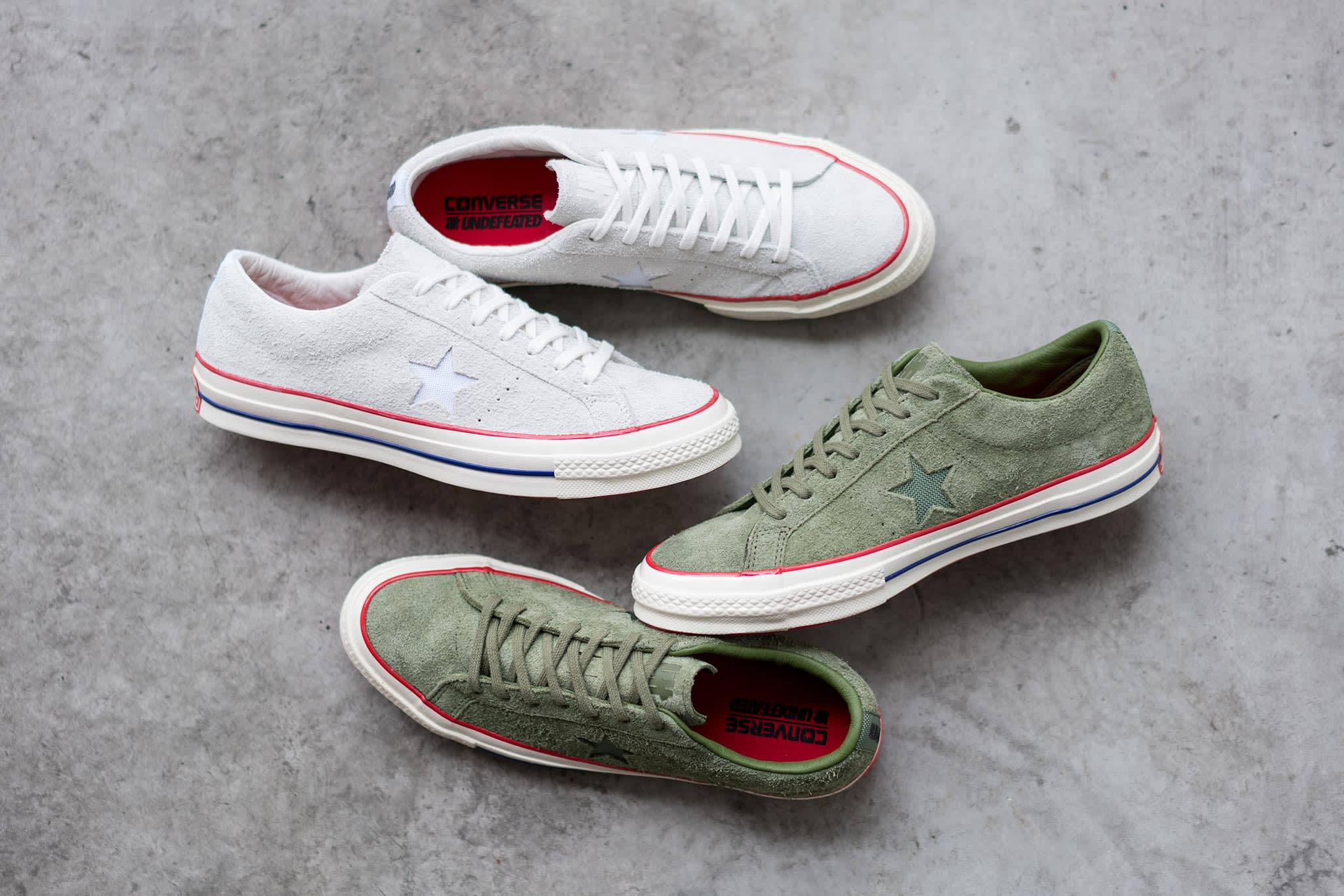 Converse x UNDEFEATED One Star Pack