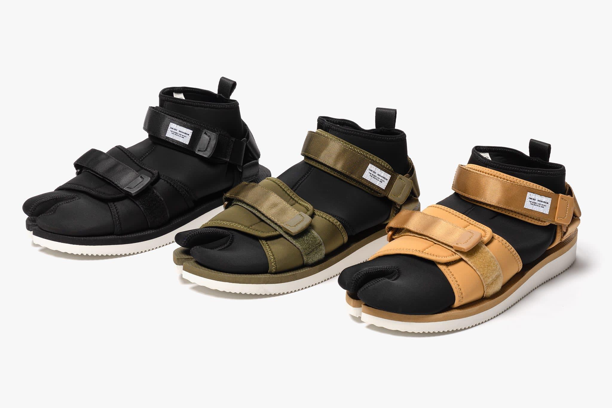 suicoke x maharishi kuno sandal