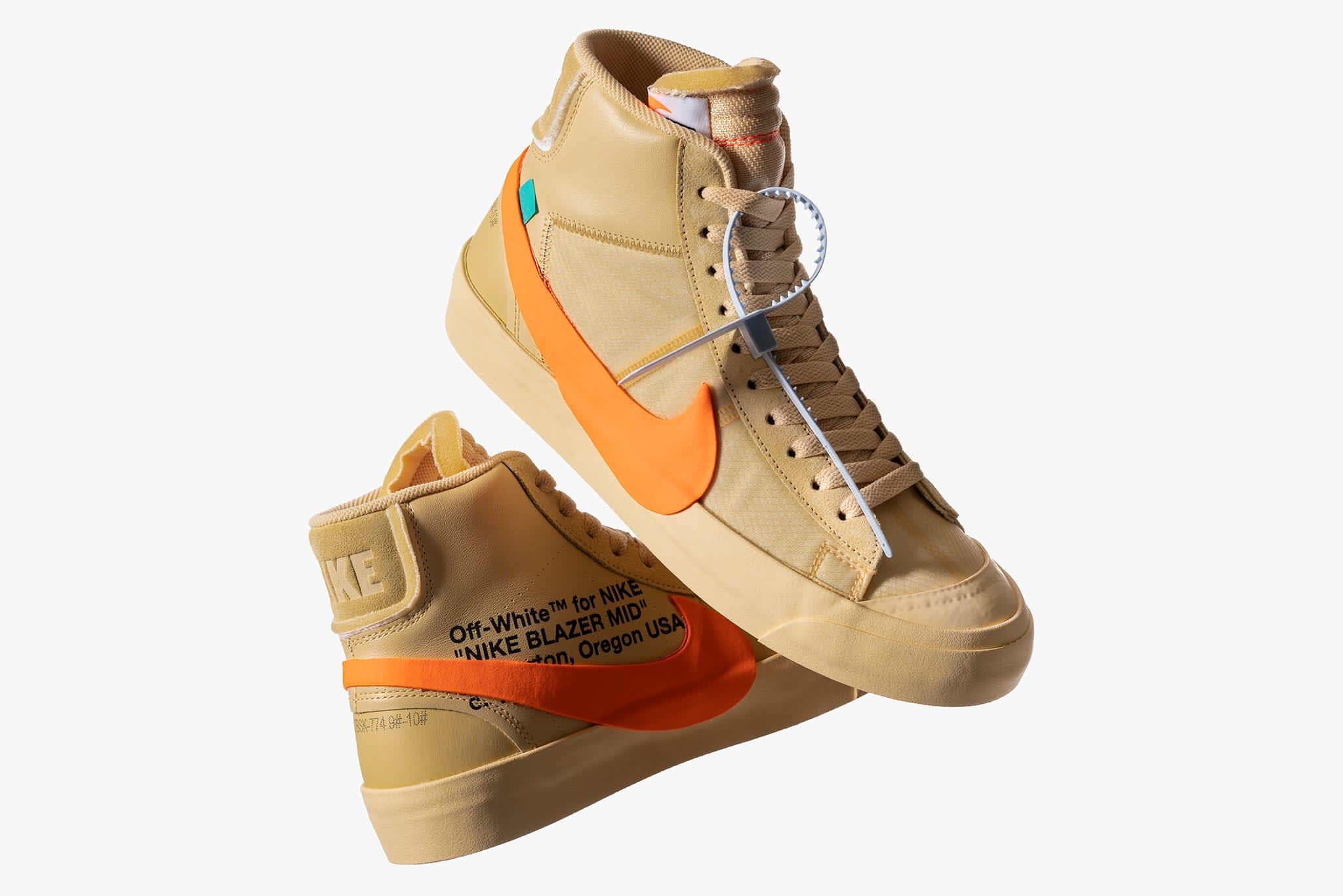 Vacío India Claraboya  Nike x Off White The Ten Blazer