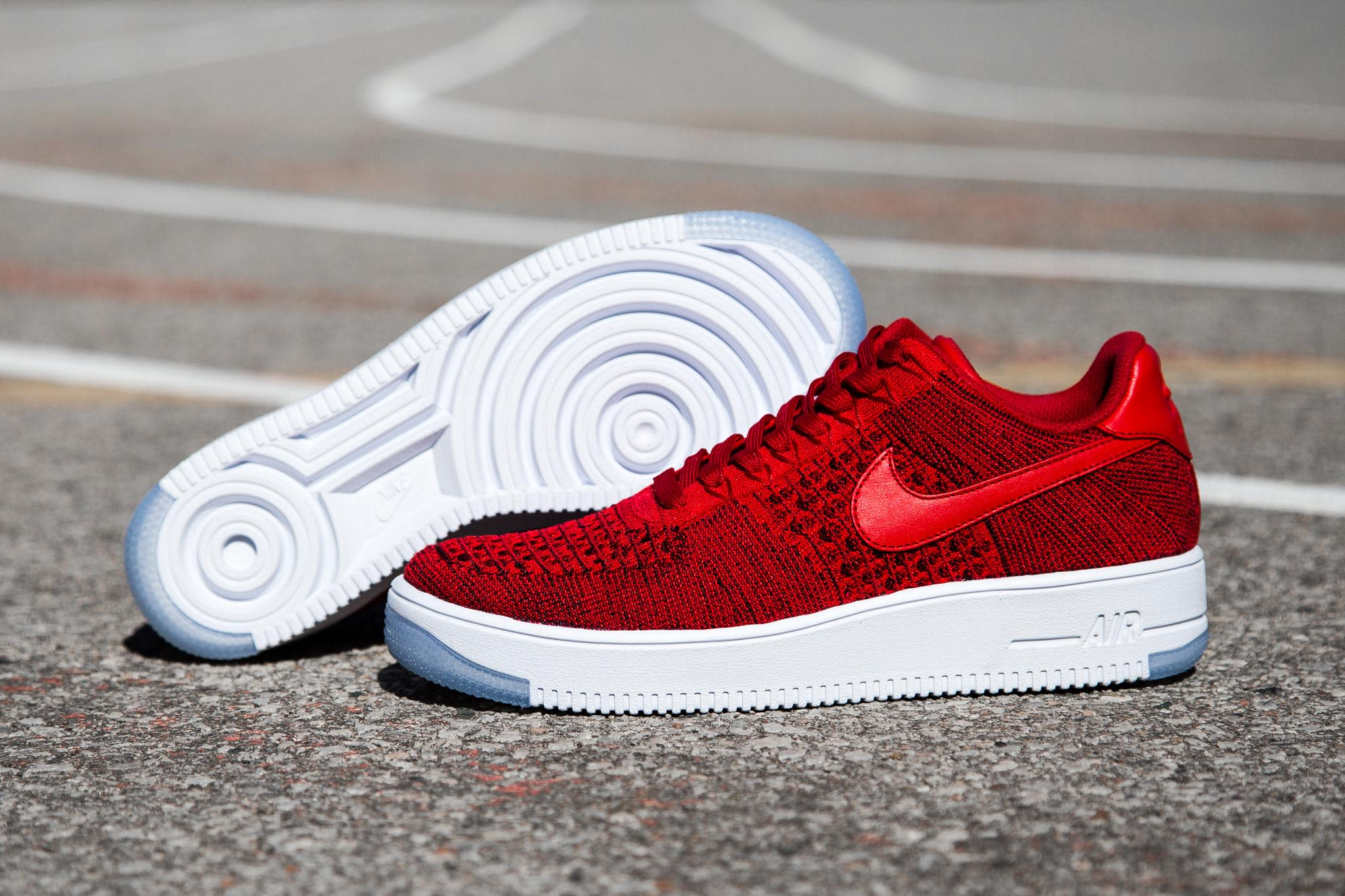 nike air force one flyknit homme