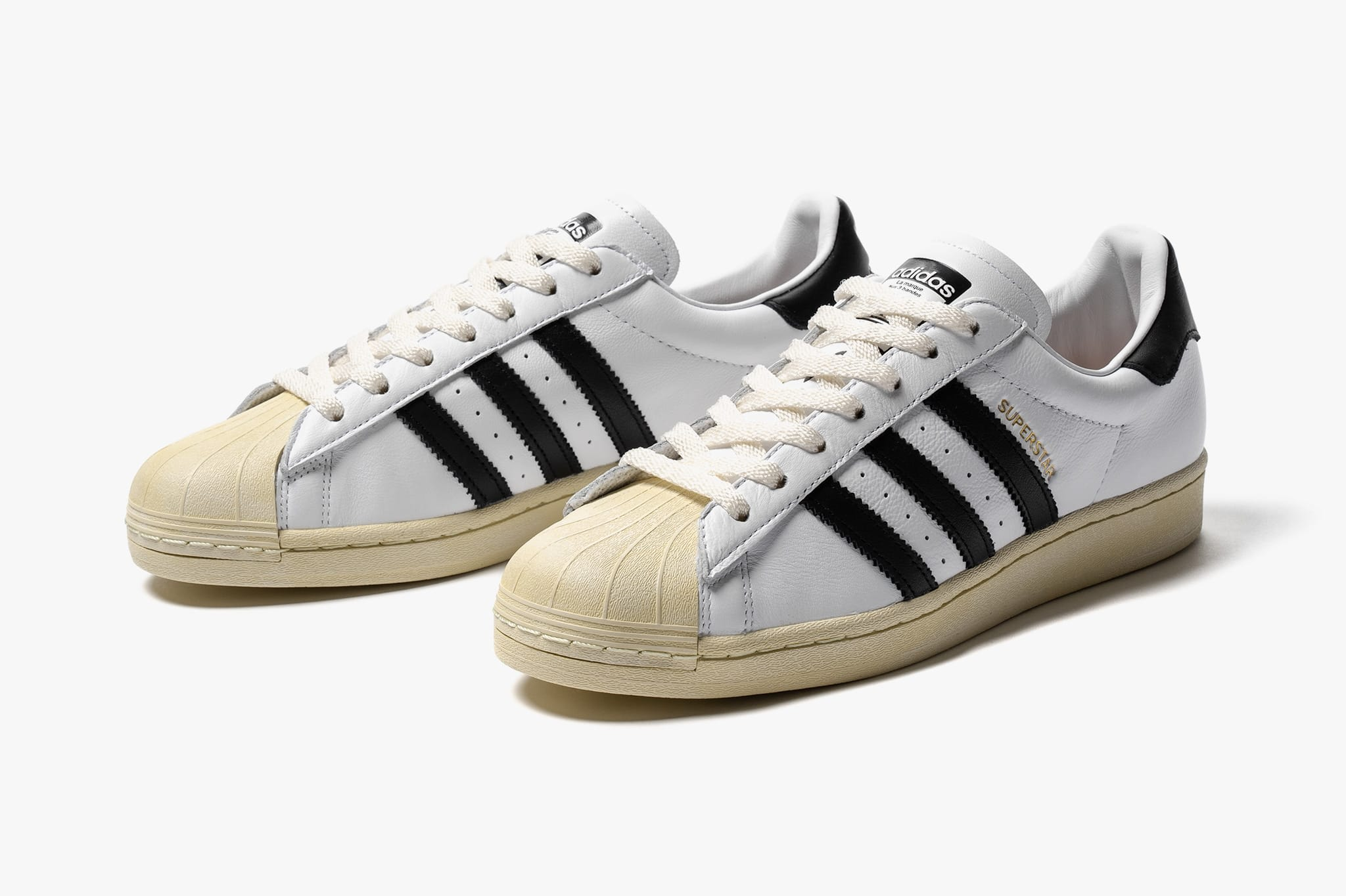 adidas Superstar White/Black   Now Available   HAVEN