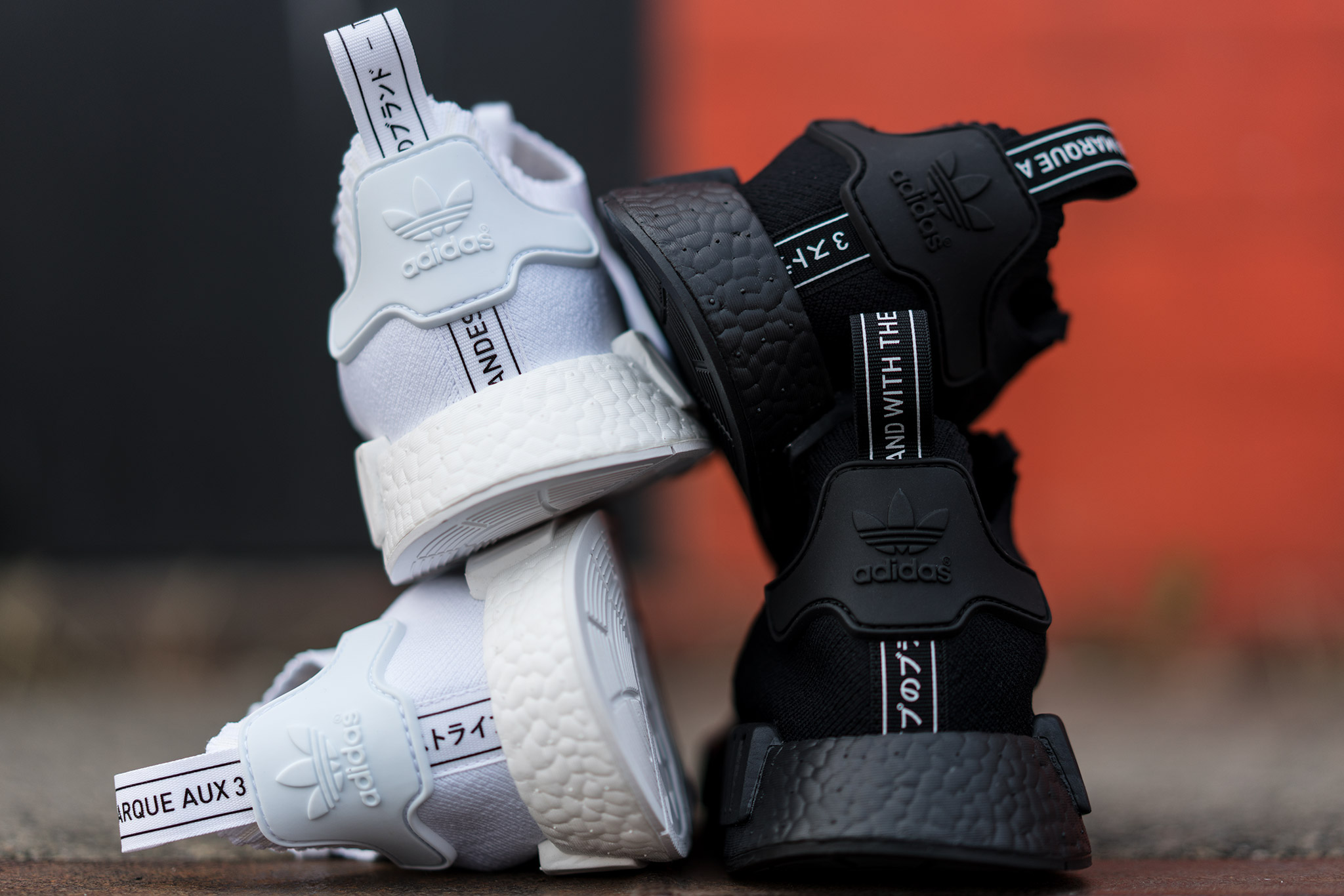 quality design 39719 8b354 adidas NMD R1 PK Triple Black & Triple White   Release Date ...