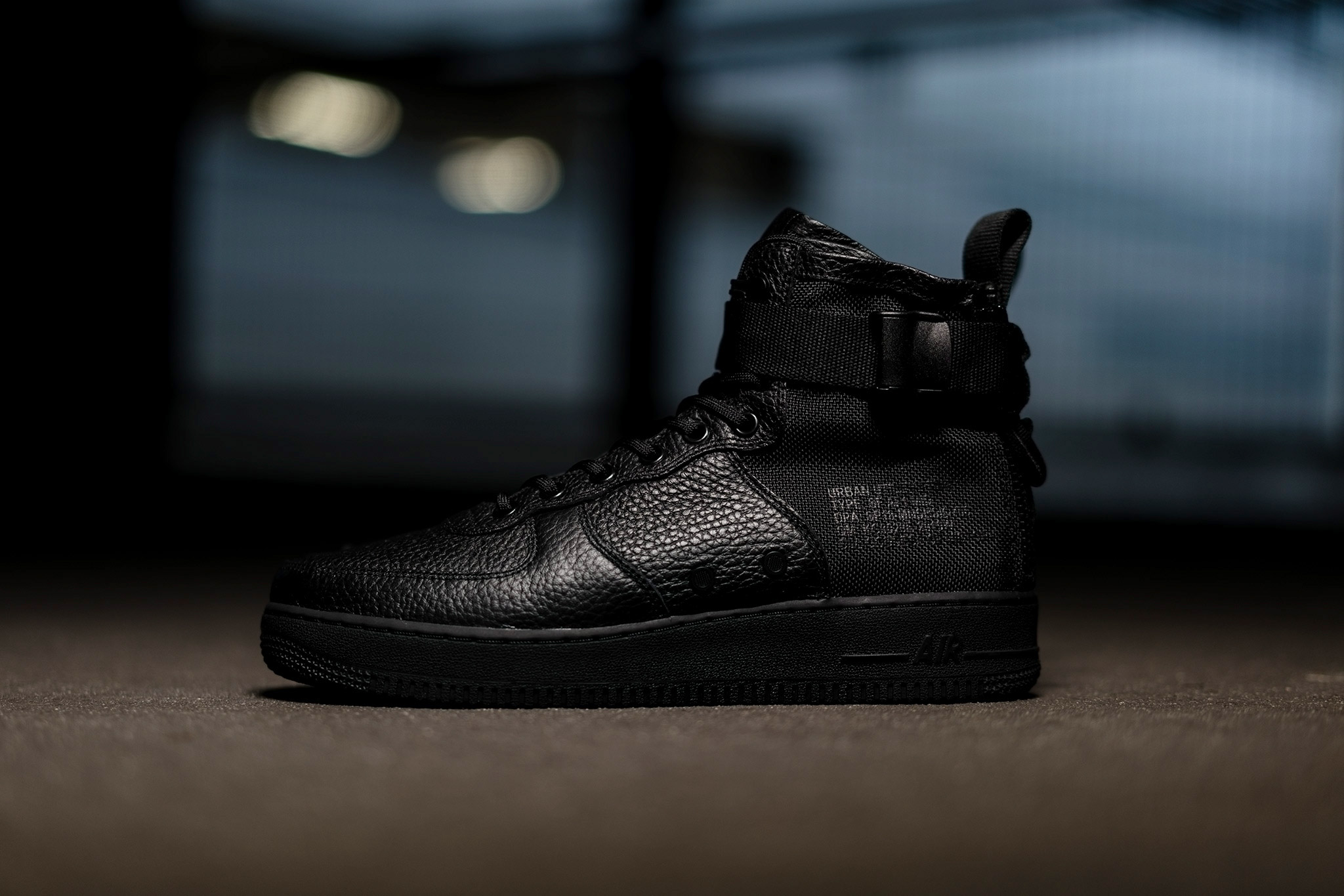 cheaper f07b8 d0ff3 SF Air Force 1 Mid 'Triple Black' | Available Now | HAVEN