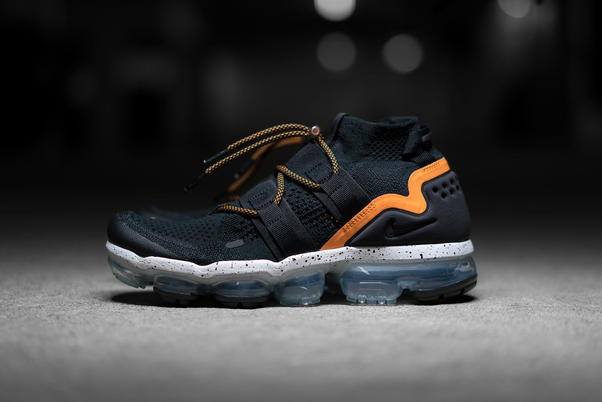 save off 6fa19 83cba Nike Air Vapormax Flyknit Utility Black / Orange | Now Available