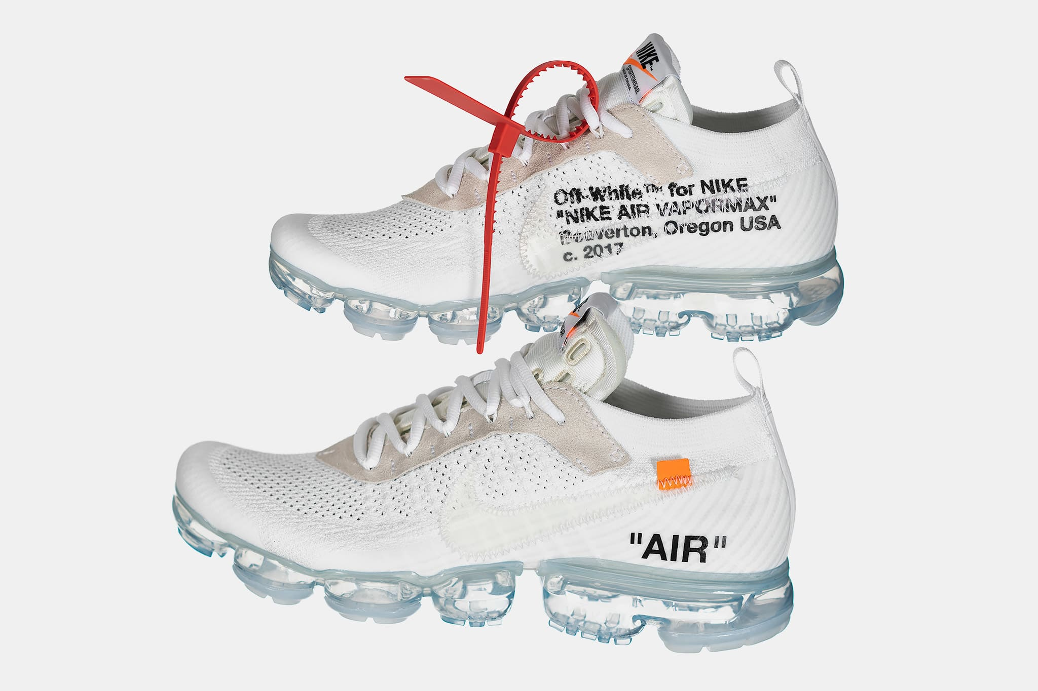 600adc54983 Nike x Off White  The Ten  Air Vapormax FK White