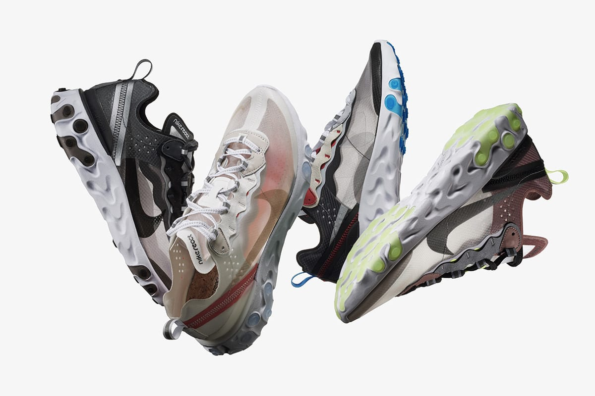 Image result for Nike React Element 87