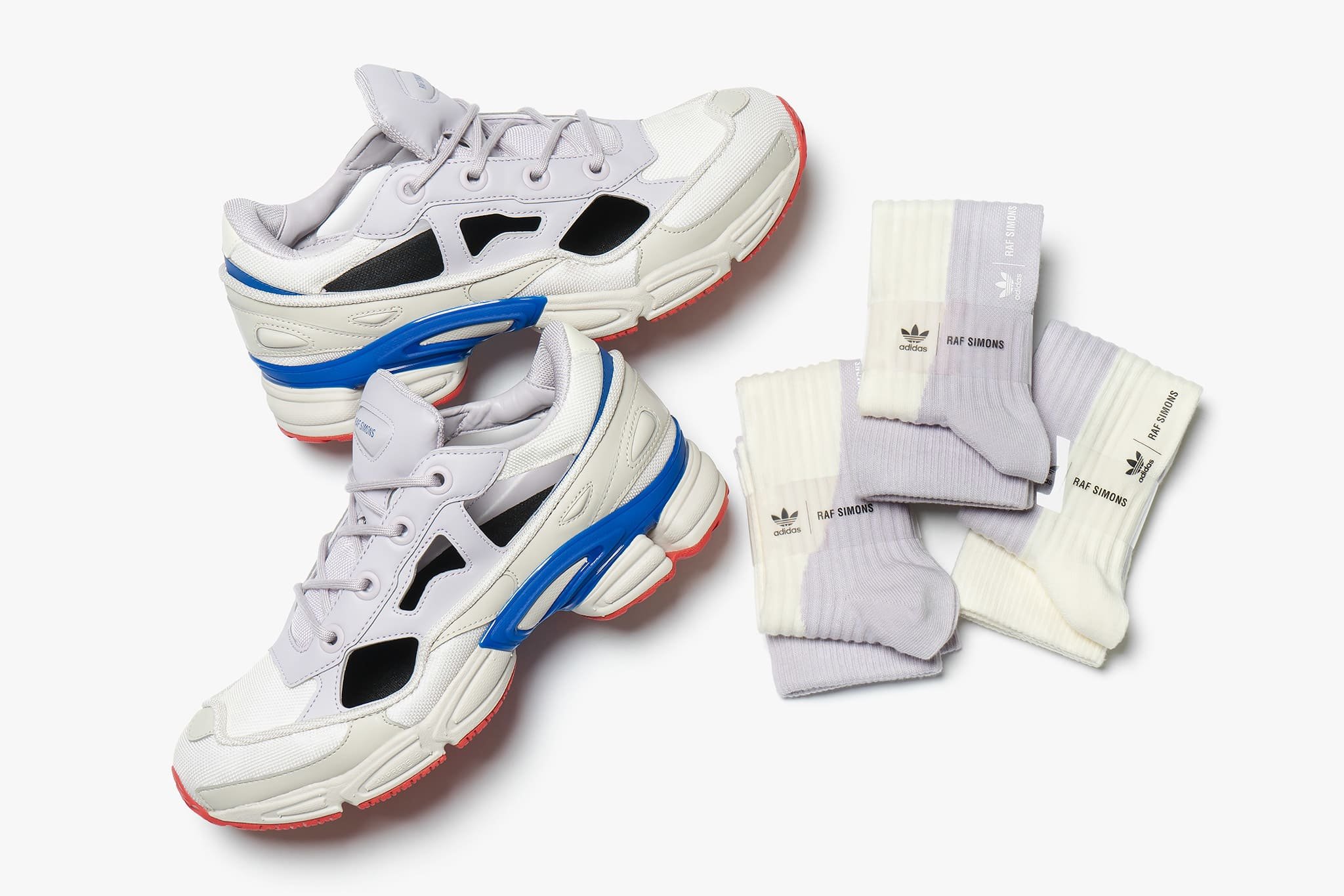 best loved a5eb2 46b50 adidas X Raf Simons Replicant Ozweego Clear Brown  Cream White  Shop  Now  HAVEN