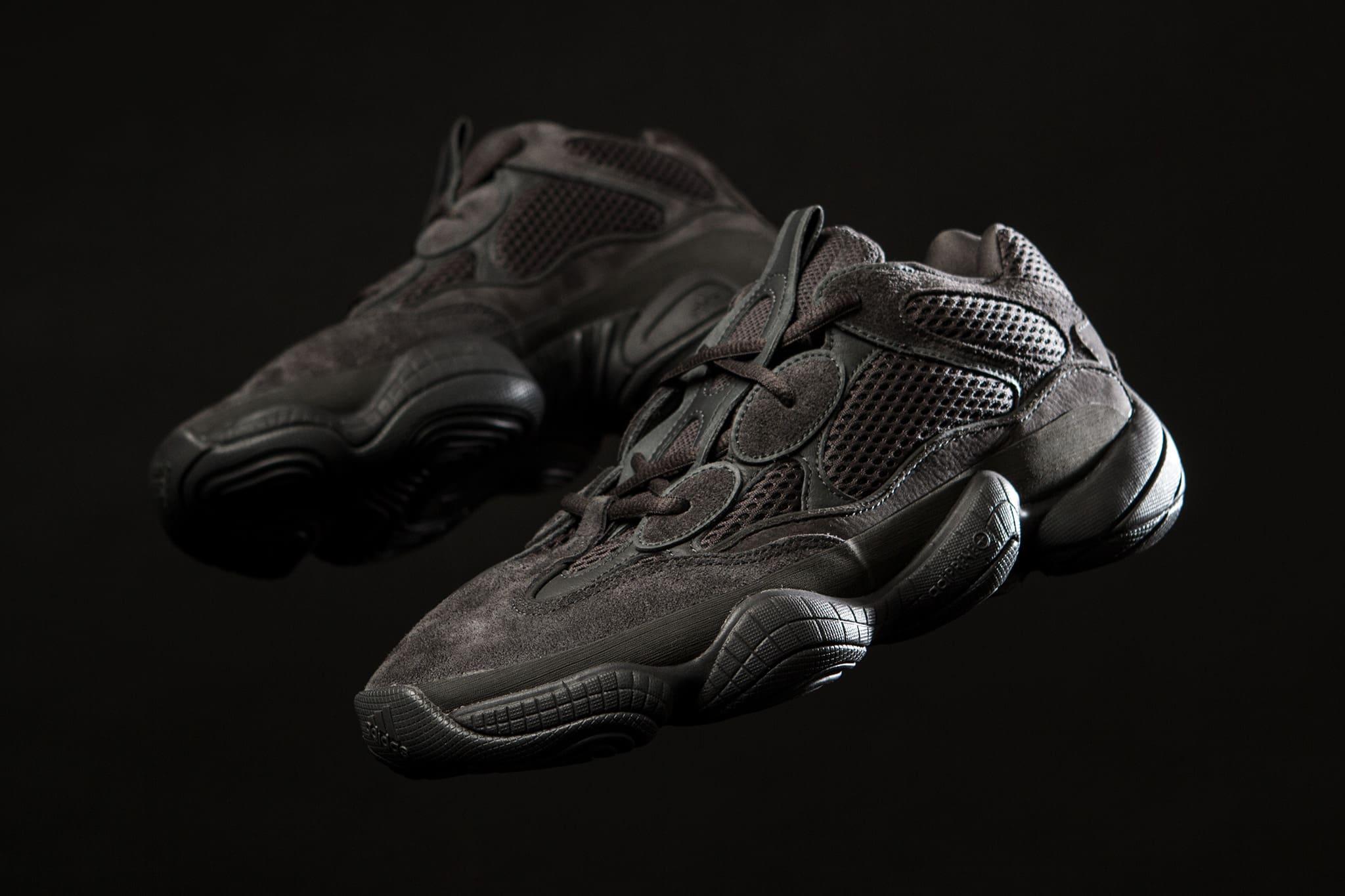 meet 37f6e 26adf adidas Yeezy 500 'Utility Black'   Release Date: 07.07.18 ...