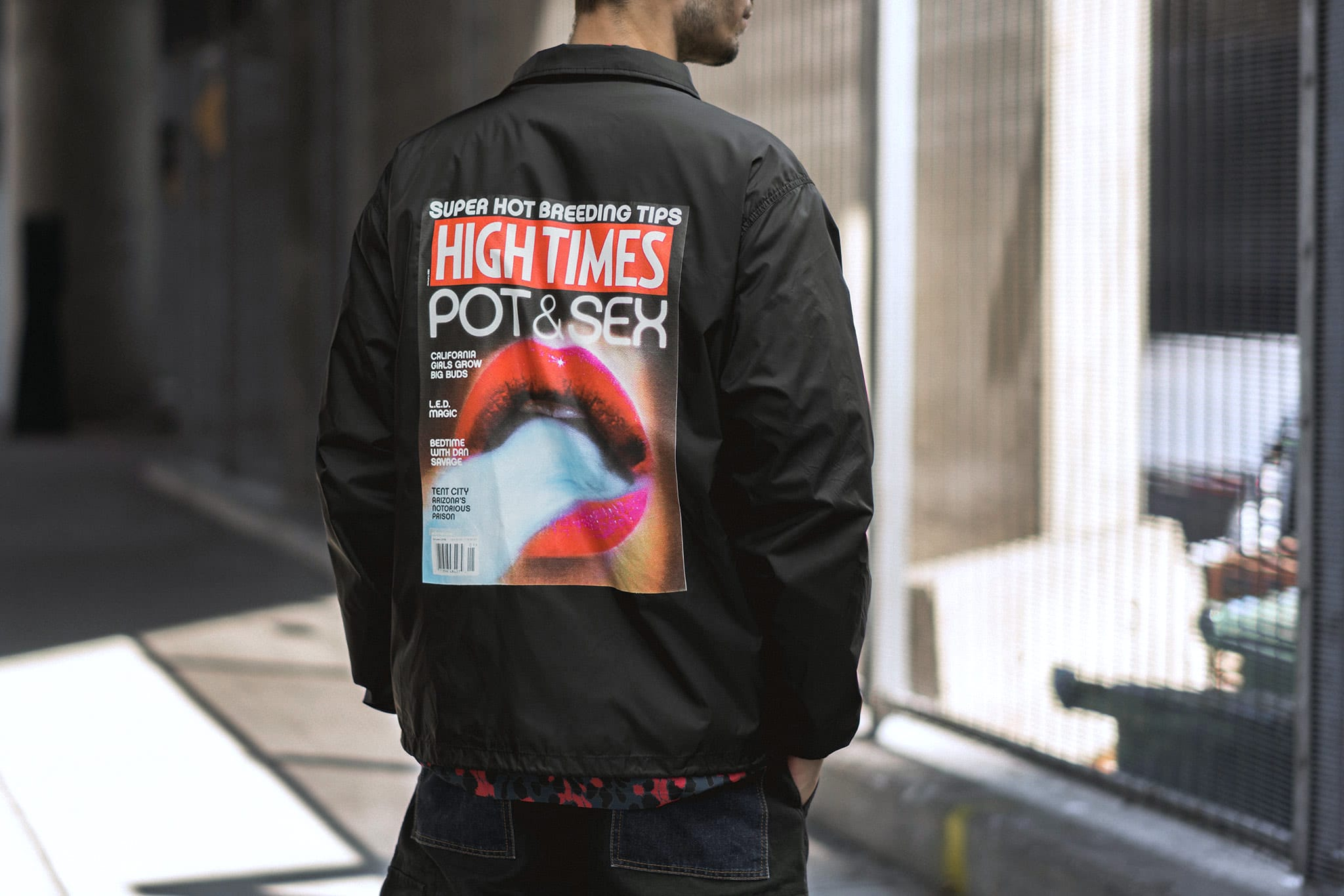 Fall Winter 2018 WACKO MARIA, High Times collaboration 1