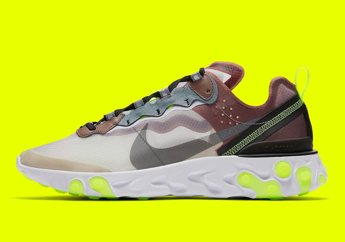 Nike Reaccionar 87 Elemento 87 Reaccionar Nuevos Colores Haven 9ff458