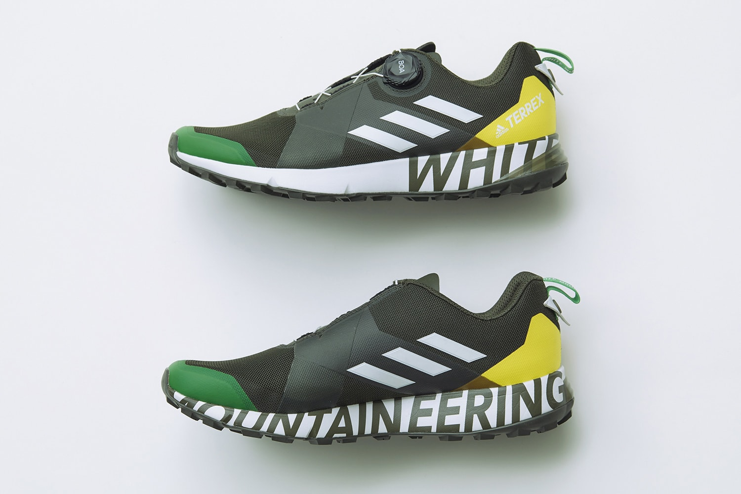 reputable site 94f45 af9f7 adidas Terrex White Mountaineering Olive Profile