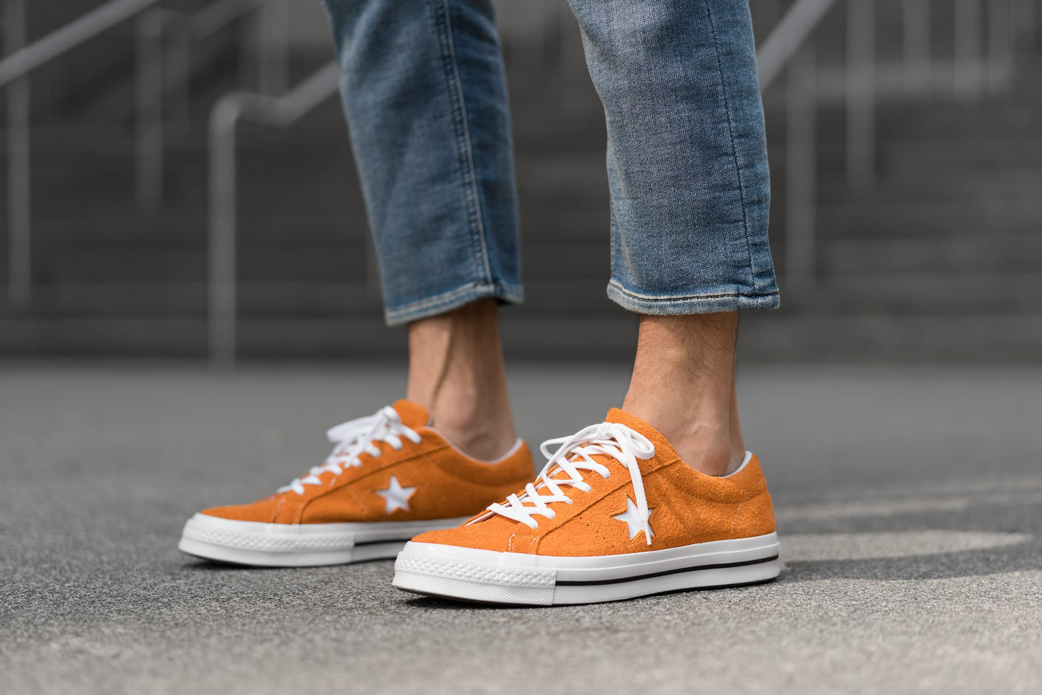 HAVEN Lookbook, Converse One Star Ox Mandarin