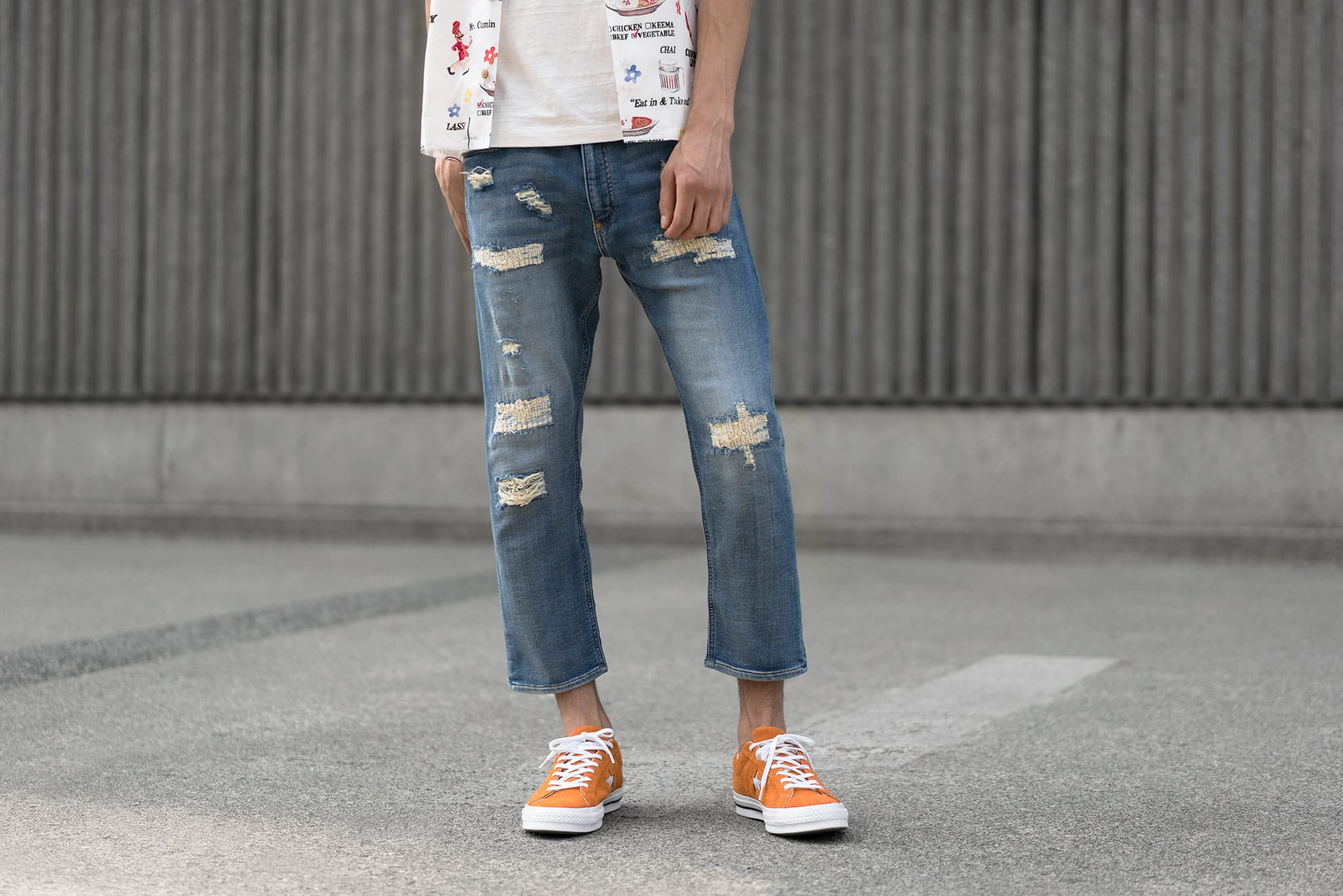 HAVEN Lookbook, Human Made PW Relax Denim Pants Indigo