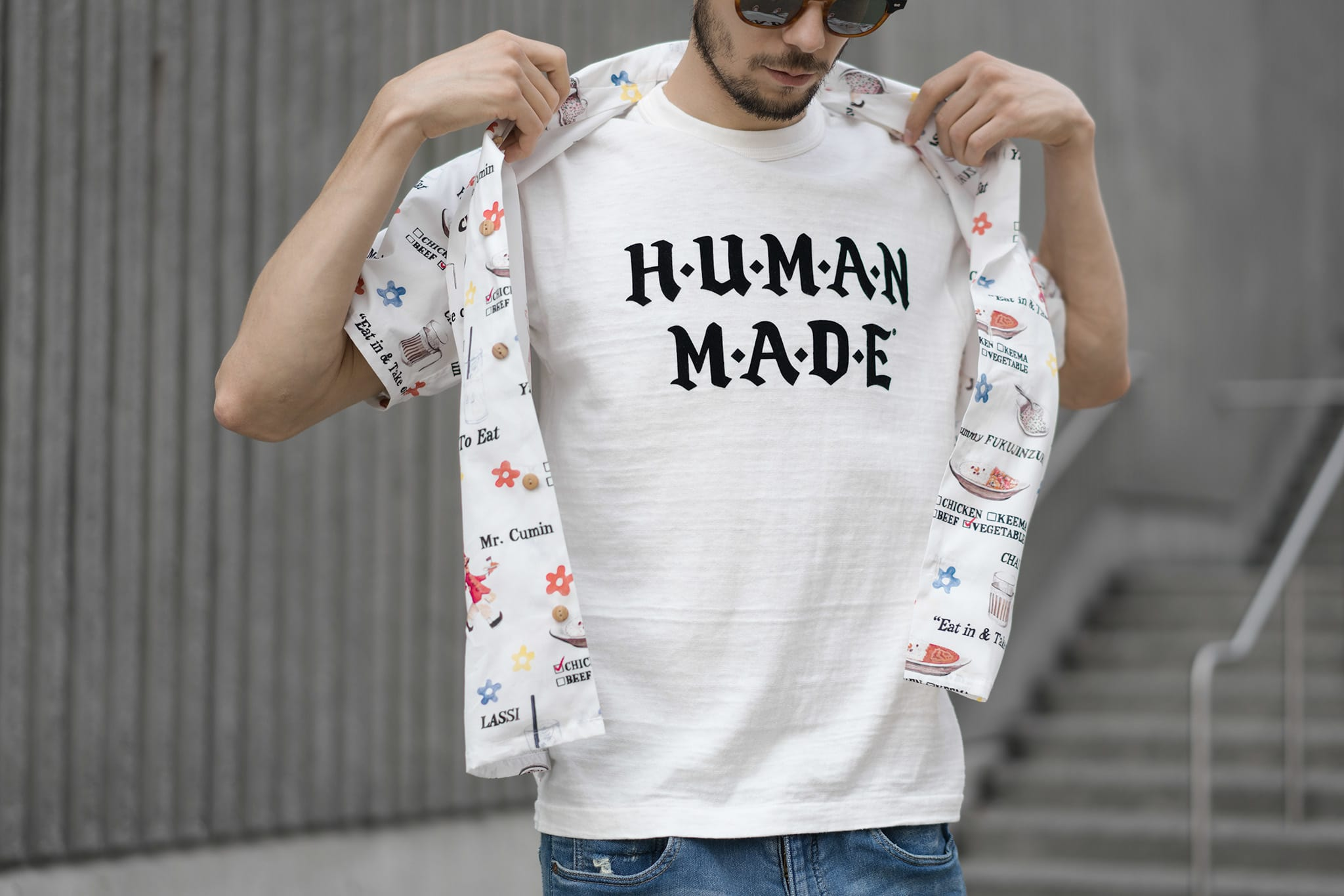 HAVEN Lookbook, Human Made T-Shirt 1605 White