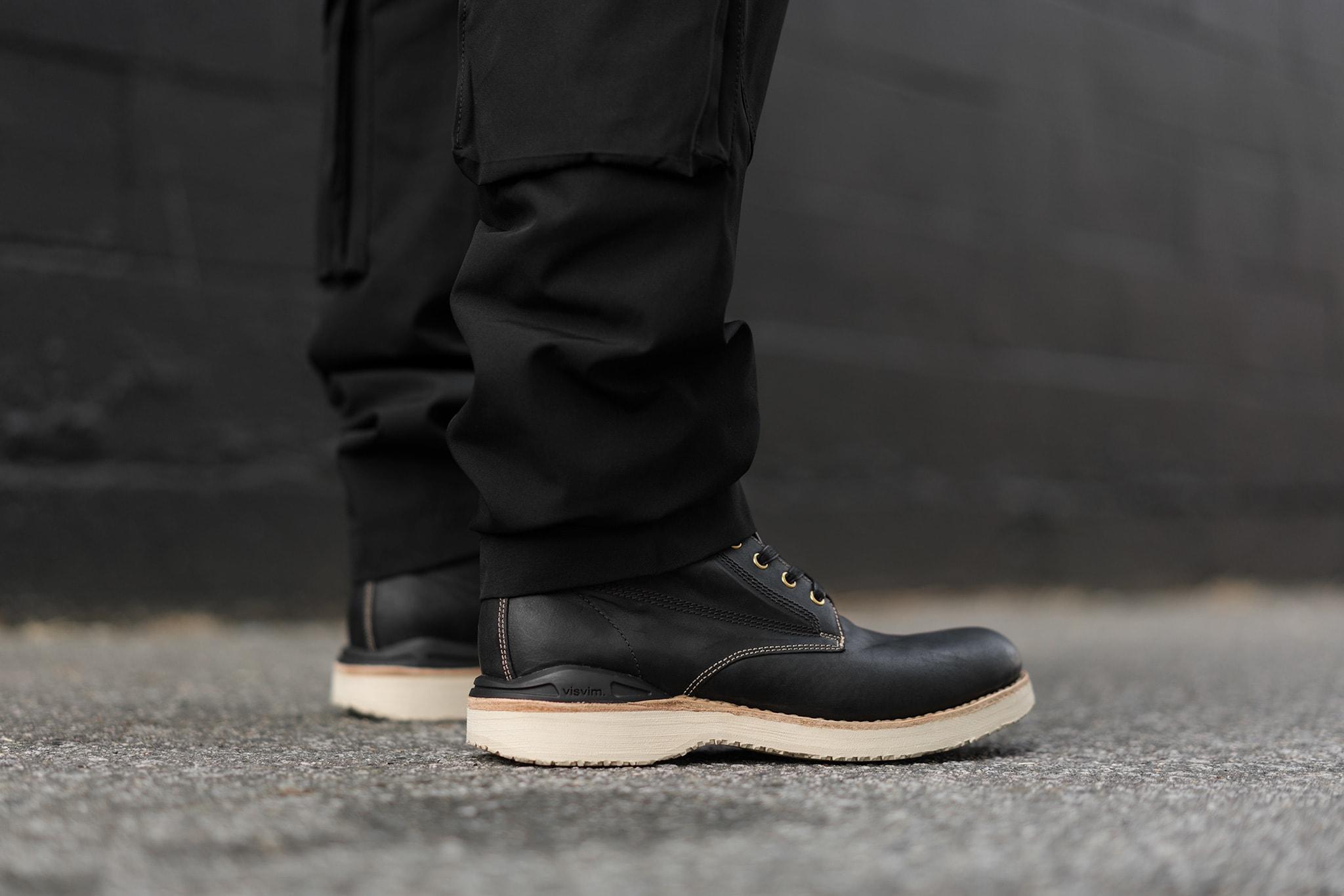 HAVEN Lookbook, visvim Virgil Boots-Folk (KNGR) Black