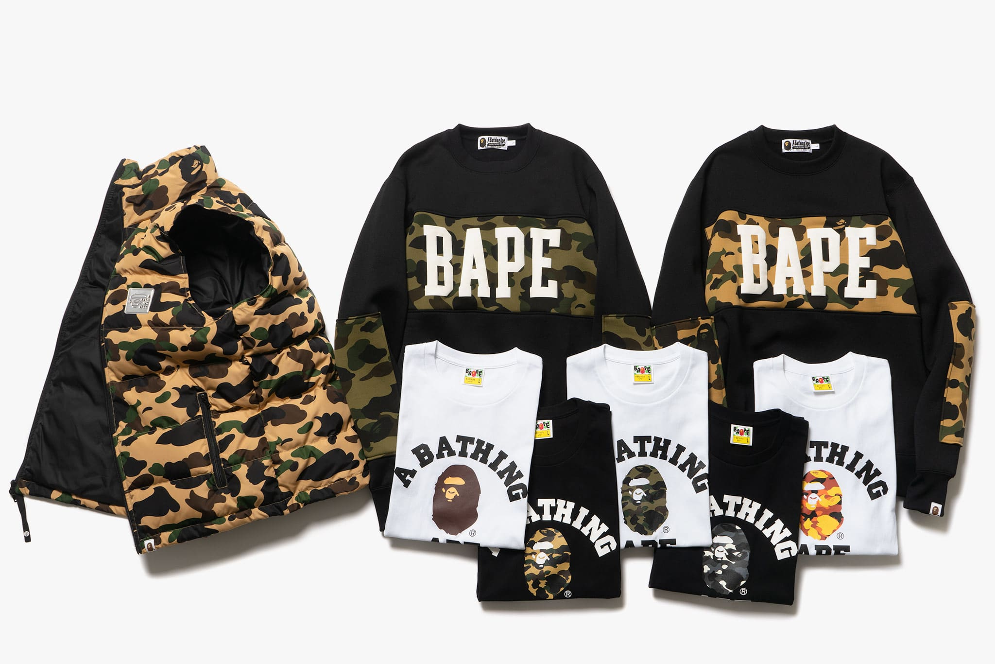 a4c7f5f3 A BATHING APE | FW18 Delivery 2 | In-Store Release Date 09.08.18 | HAVEN