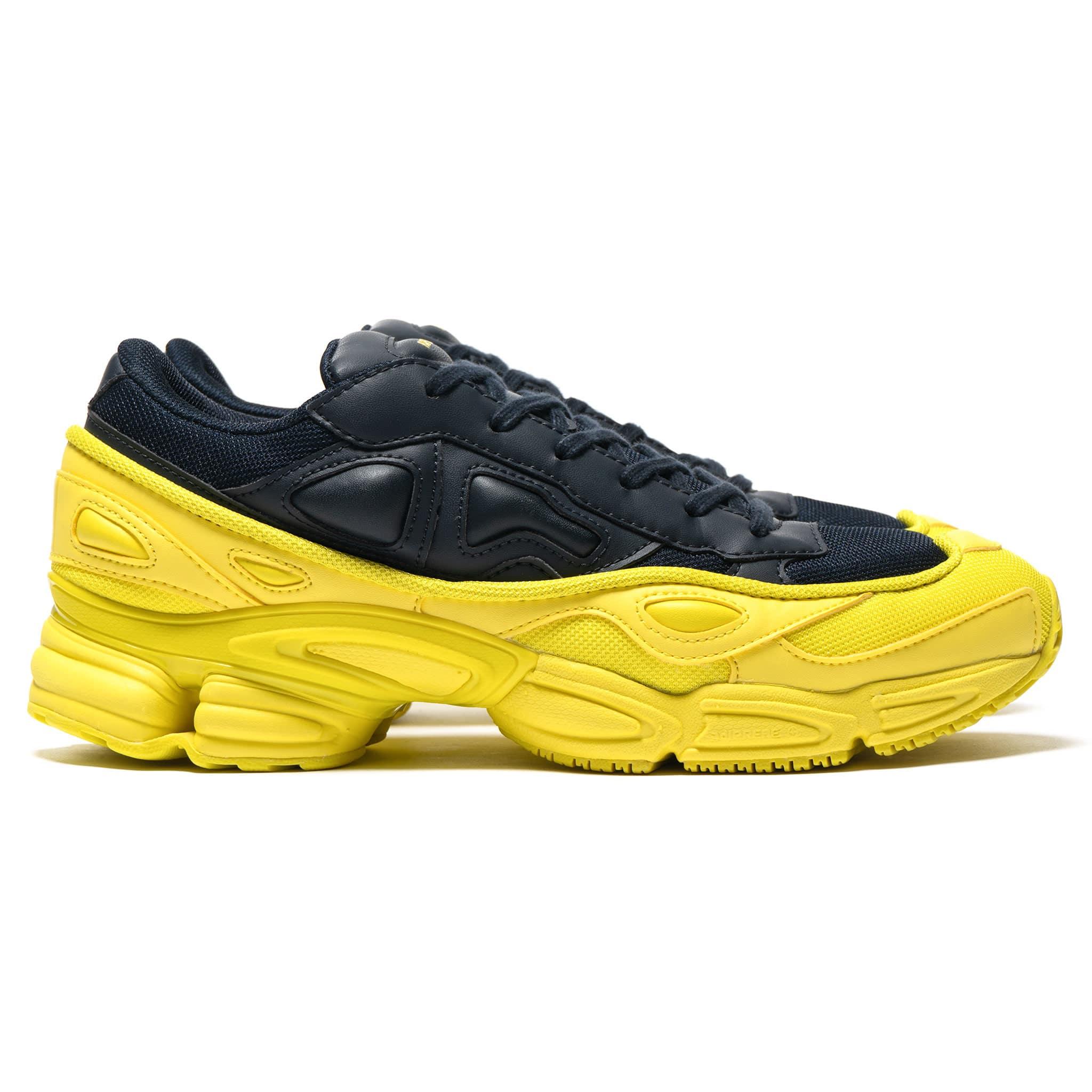 ae117aa7a928 Raf Simons and adidas Unveil Colourblocked Ozweego