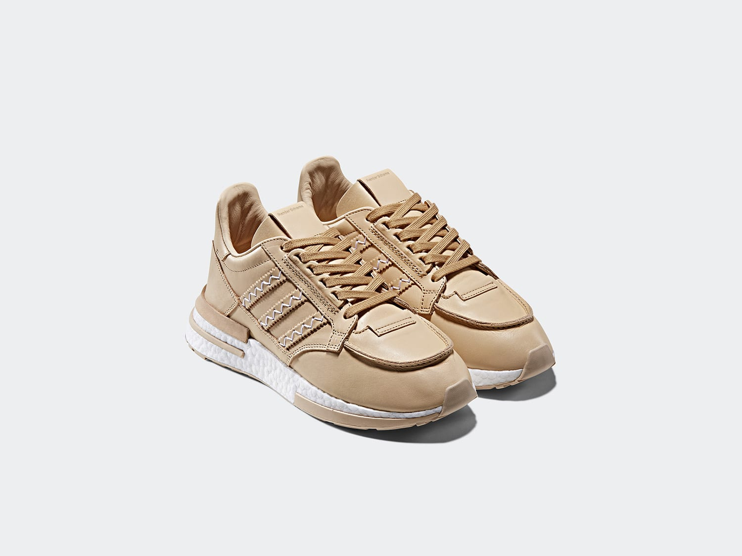 "779622688 Highlighting the collection is the ""HS ZX 500 RM"" crafted in Hender Schemes  signature vegetable tanned ..."