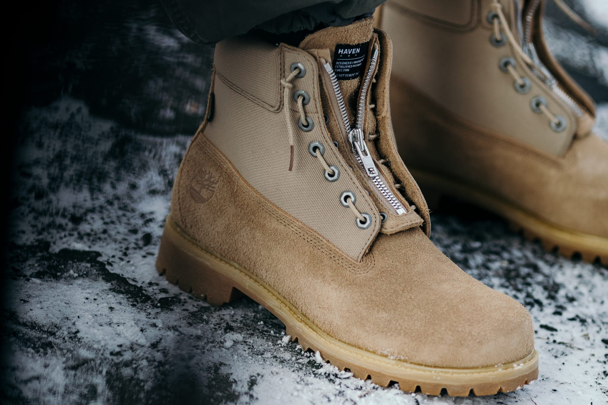 e3b311788dc HAVEN / Timberland® GORE-TEX® 6-Inch Boots Editorial   HAVEN