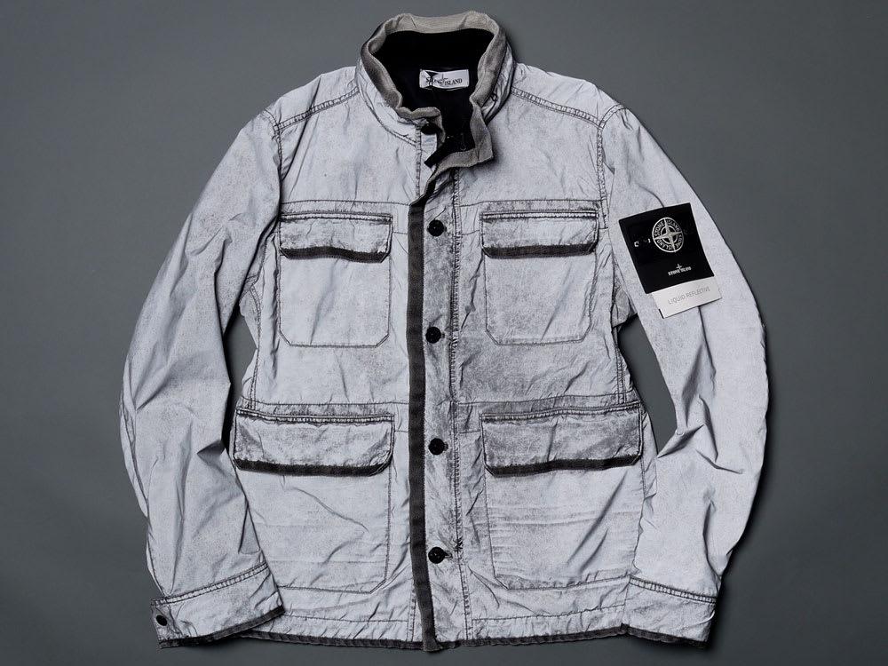 a514fac949c Stone Island LIQUID REFLECTIVE Jacket | HAVEN