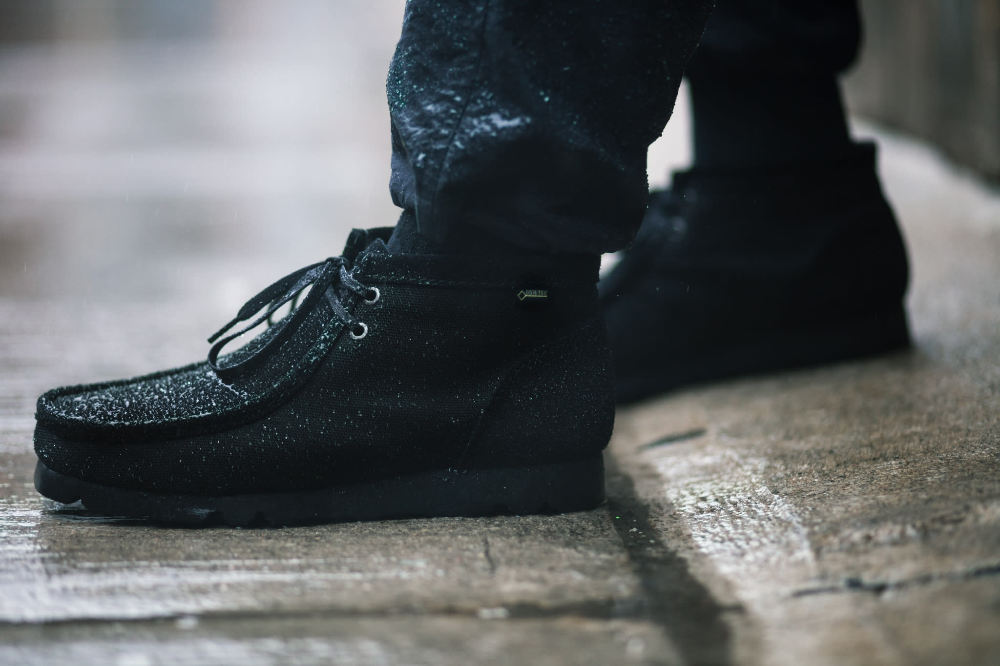 HAVEN / CLARKS® ORIGINALS GORE-TEX® Ballistic Wallabee Boots