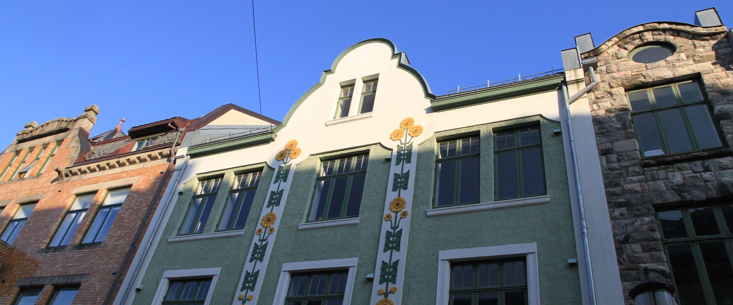 Art Nouveau architecture in Ålesund