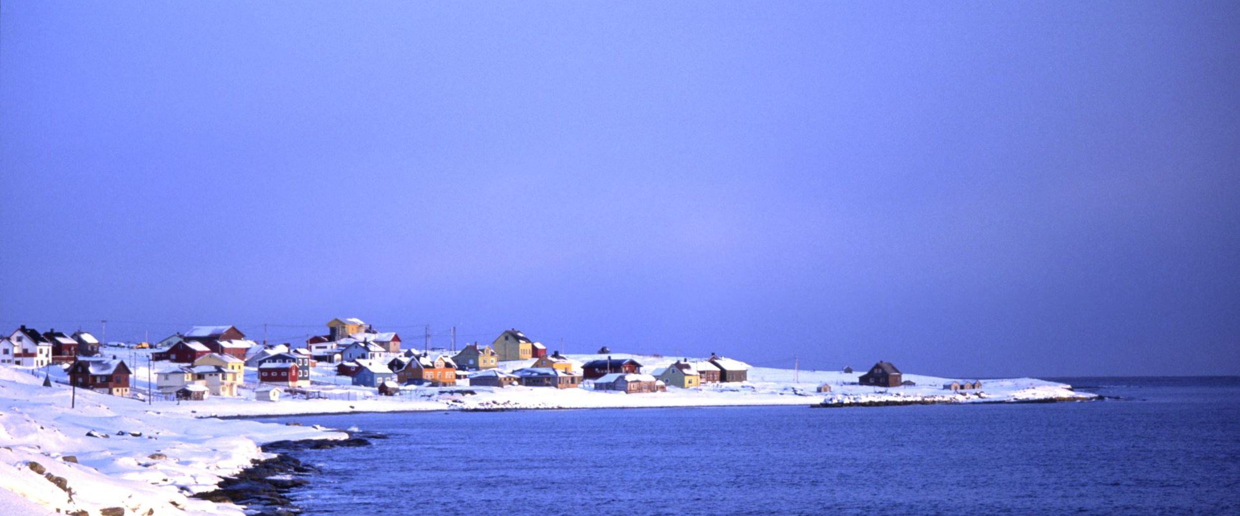 Vadsø in the winter. Photo: Jarkko Autero, nordnorge.com