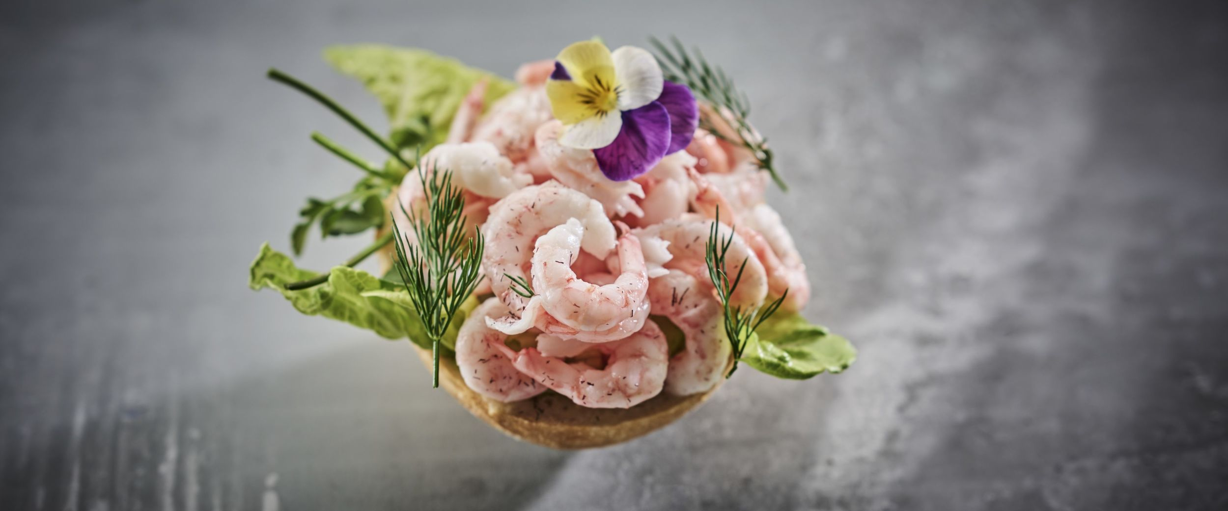 Shrimp sandwich from Havly Café - Havila Food Stories, photo by Tom Haga