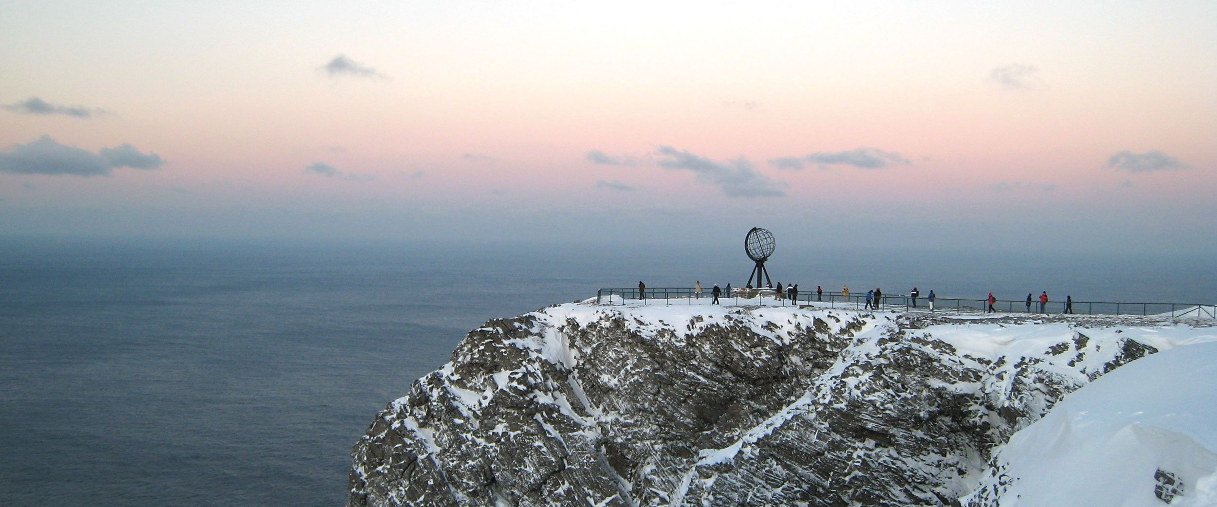 North Cape in a winter day