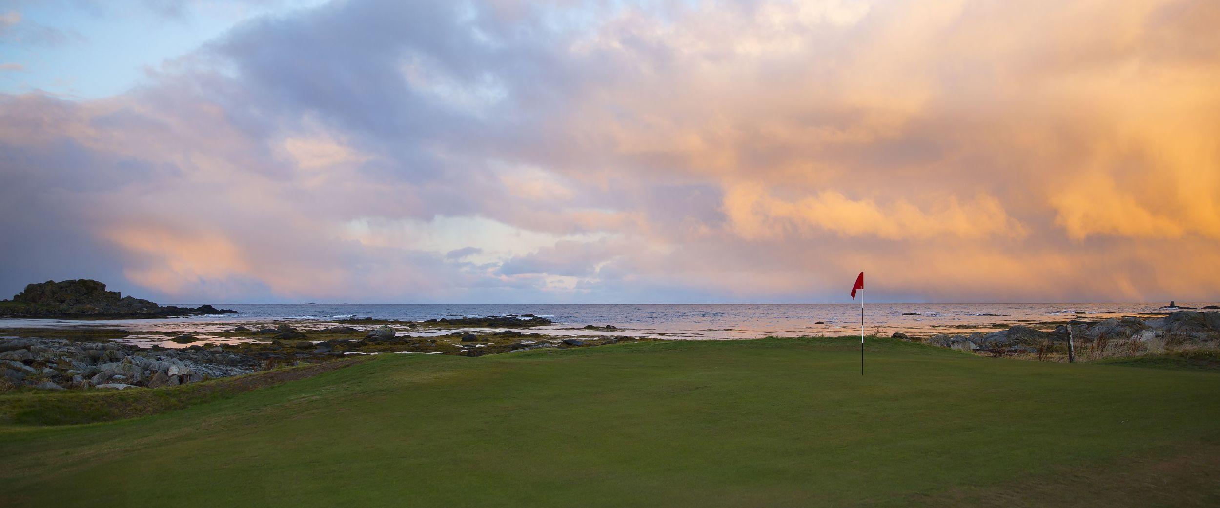 Golf. Lofoten.