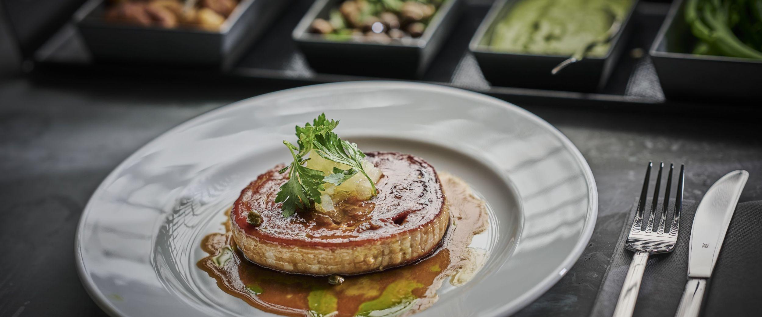 Prochetta from Havrand Restaurant, photo by Tom Haga
