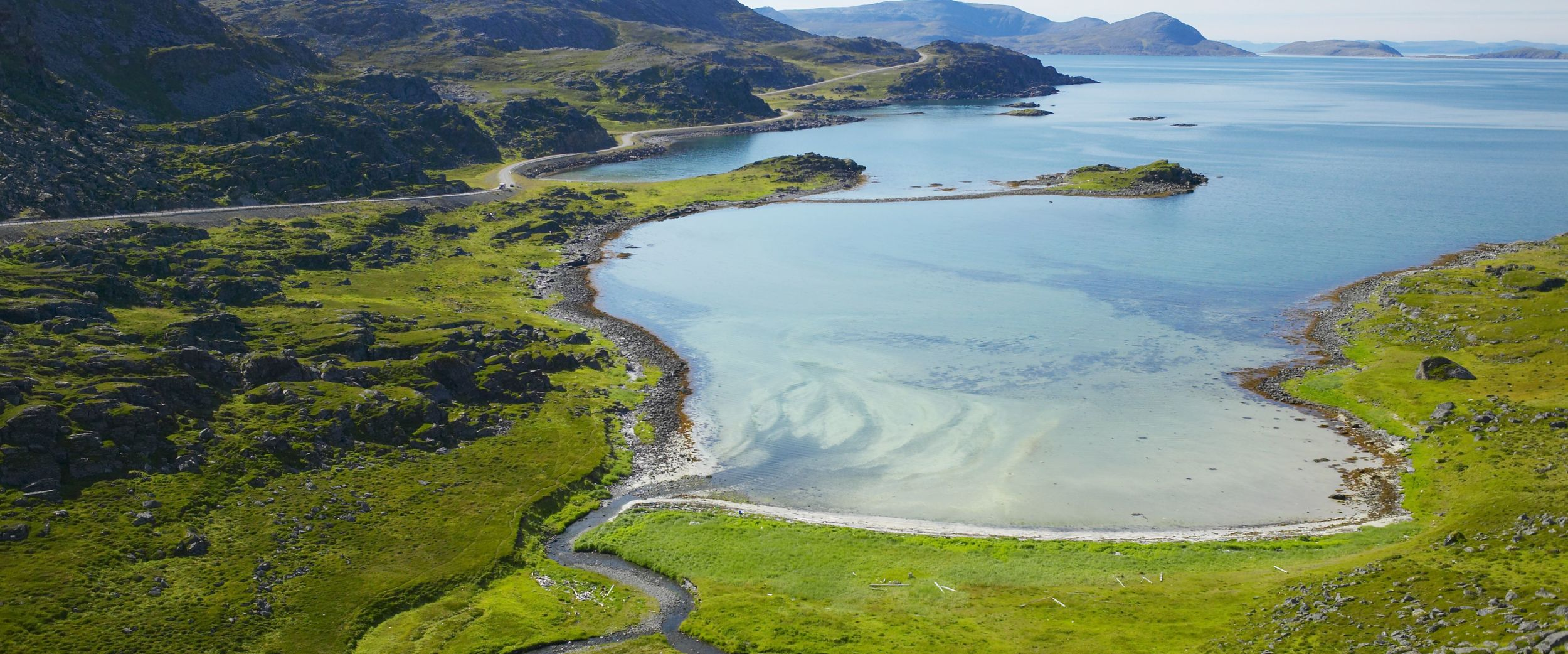Beach in Havøysund, photo: Bård Løken, nordnorge.com