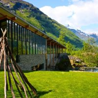 Norsk Fjordsenter, center for the Unesco World Heritage in Geiranger. Photo: fjordcenter.com