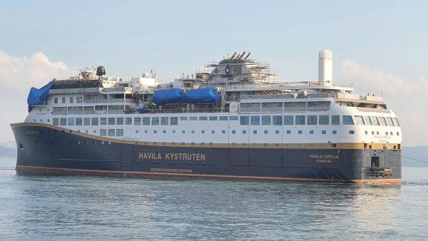 Havila Capella in July 2021
