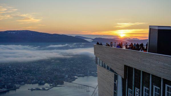 Viewpoint in Tromsø